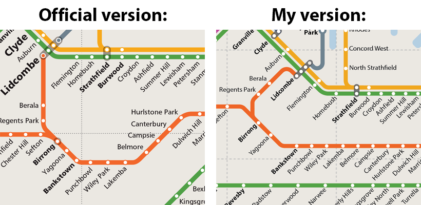 Sydney Trains and Metro Map in 2020 – Unofficial – Makkiato
